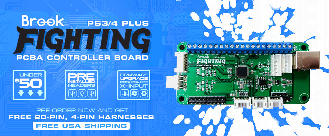 Pre-order the Brook PS3/4 Fighting Board Plus!