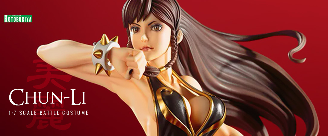 Order the Kotobukiya Street Fighter Chun-Li Battle Costume Bishoujo Statue