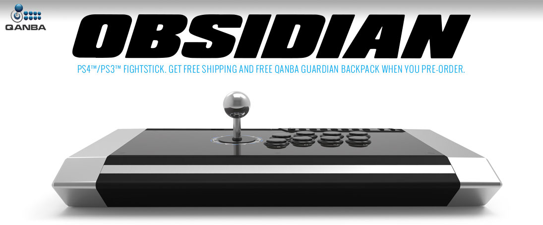 Pre-Order the Qanba Obsidian and get a free Guardian backpack, plus free USA shipping