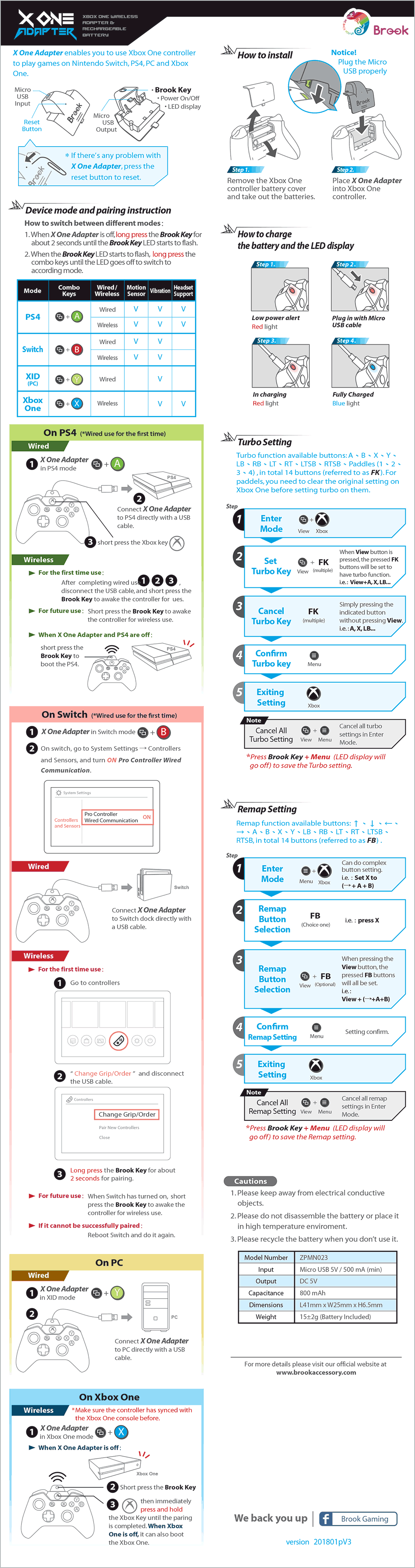 XOne Manual (English)