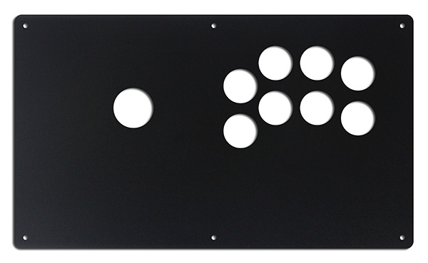 Korean Sega 2-Player 8-Button Panel