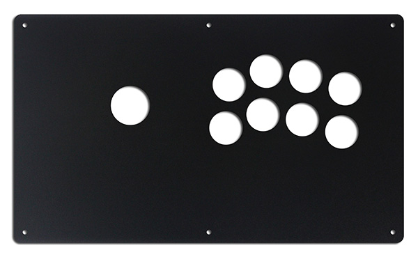 Korean Namco Noir 8-Button Panel