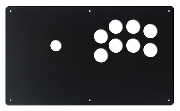CAFS Sega 2 Player 8 Button Panel
