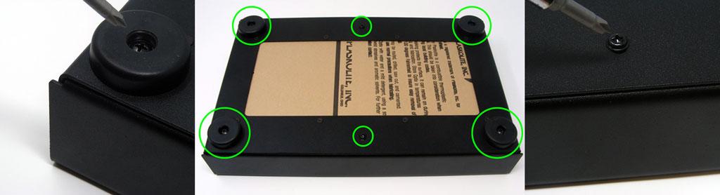 AFS Bottom Panel Artwork Install - Steps 1-2