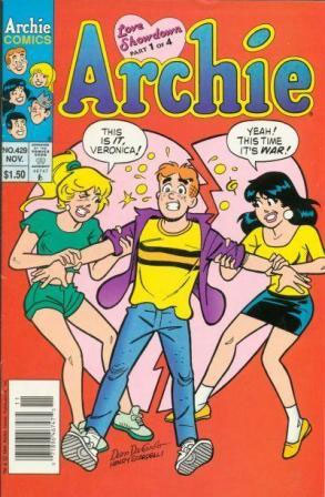 Archie Comics Love Showdown #1 Homage