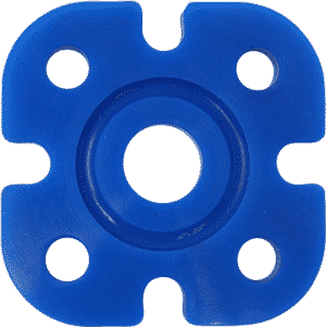 ASI Golden Silicone Shore 50A Tension Blue