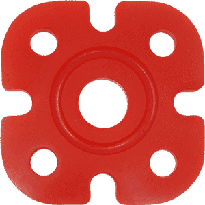 ASI Golden Silicone Shore 60A Tension Red