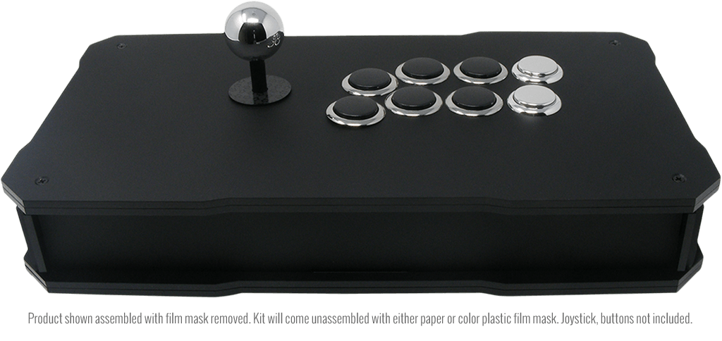 BnB Fightsticks Black Matte - Back