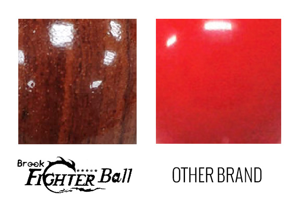 Brook Fighter Ball materials comparison