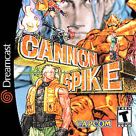 Cannon Spike Dreamcast Cover