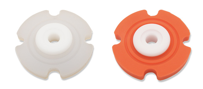 Available separately, 25 tension and 40 tension grommets
