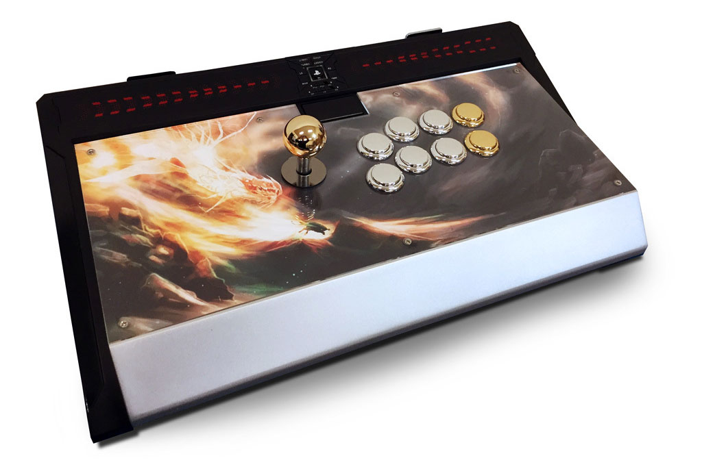 Personalize your Qanba Dragon Fightstick