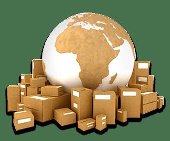 Faster International Shipping globe