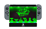 PDP Dock Shield Mario Odyssey Green