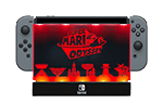 PDP Dock Shield Mario Odyssey Red