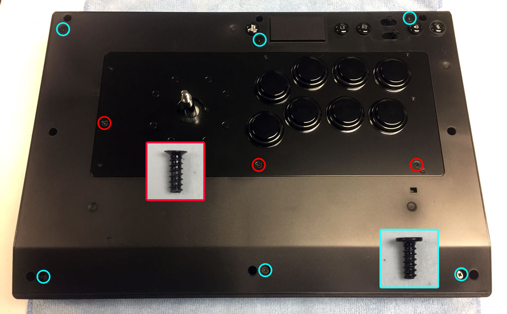 Razer Panthera EVO Artwork Install: Replacing Button Step 1