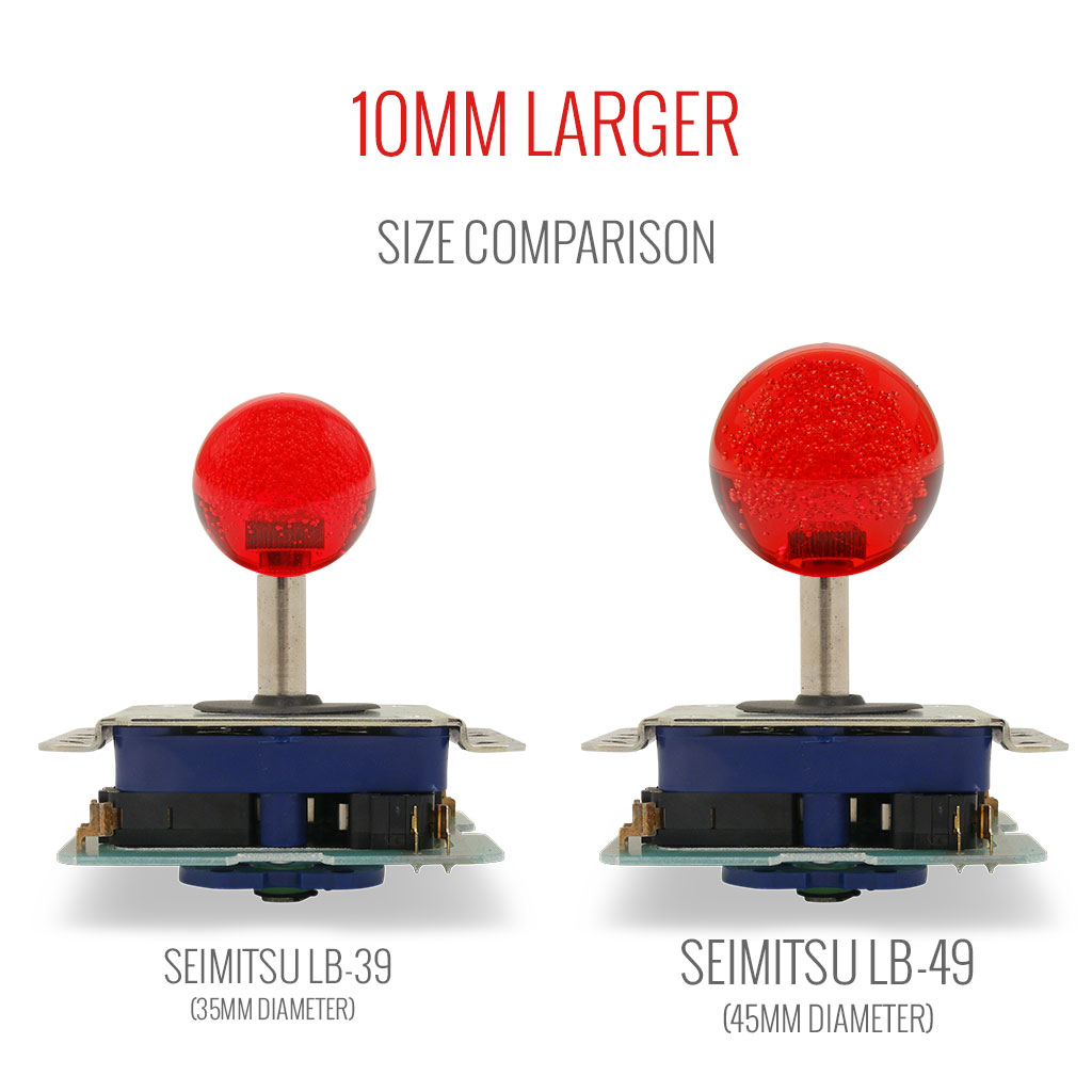 Seimitsu LB-39, LB-49 bubbletop size comparison