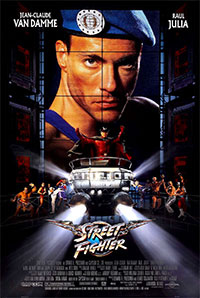 Homage to original Street Fighter the Movie Poster