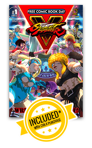 Get a free copy of Street Fighter V Wrestling Special - 2017 Free Comic Book Day Issue!