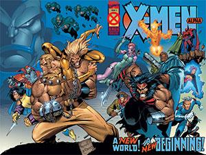 X-Men Alpha Cover Original Homage