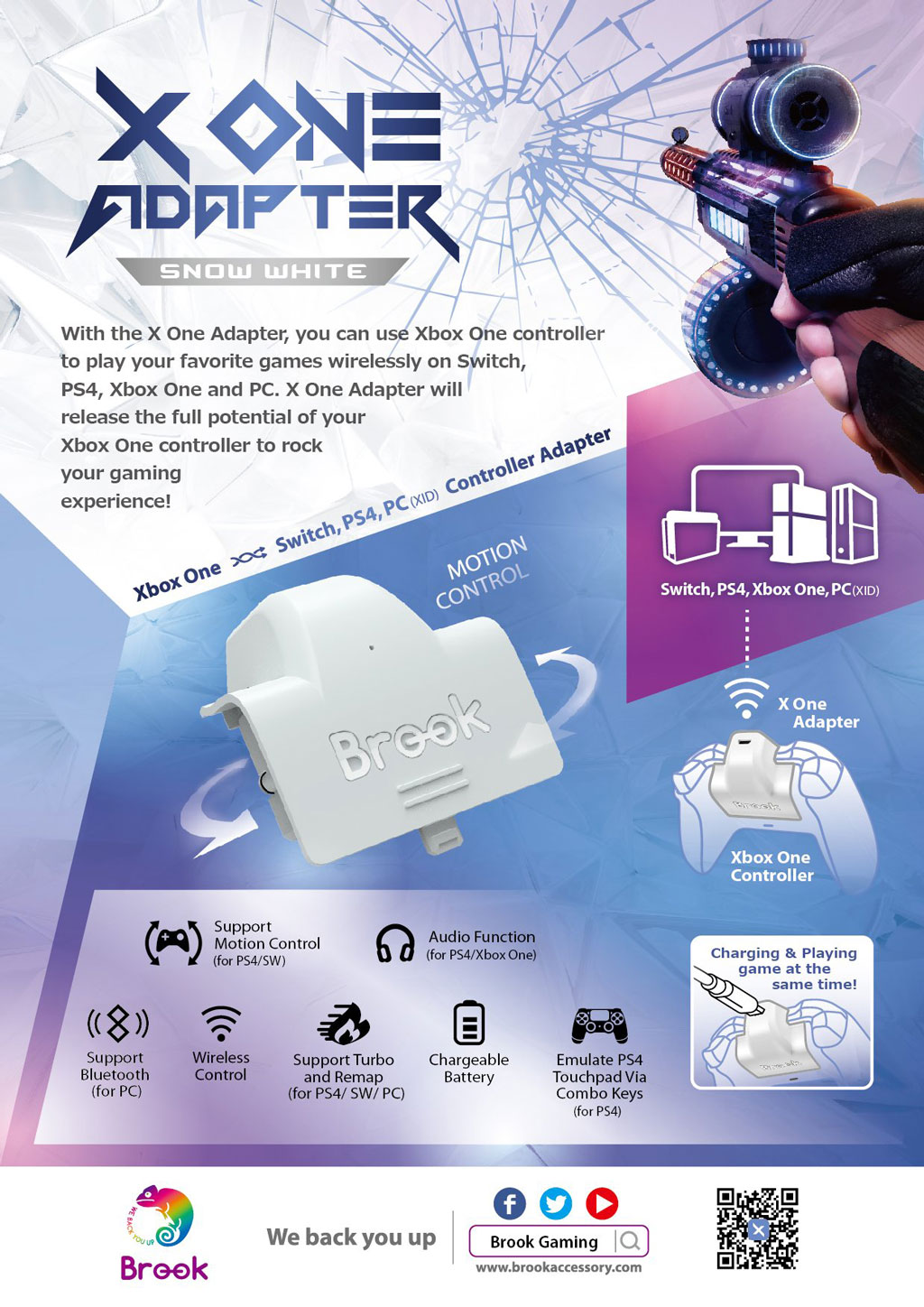 XOne Adapter promotion and feature iist