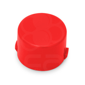Mix & Match Seimitsu PS-14-DN 24mm Convex Cap: Red