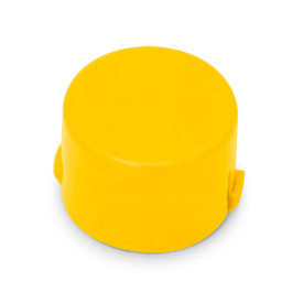 Mix & Match Seimitsu PS-14-DN 24mm Convex Cap: Yellow