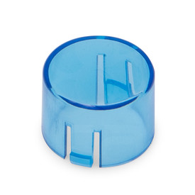 Mix & Match Seimitsu PS-14-DNK Translucent 24mm Convex Cap: Blue