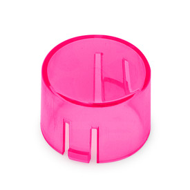 Mix & Match Seimitsu PS-14-DNK Translucent 24mm Convex Cap: Pink