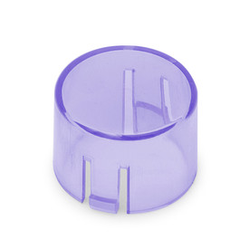 Mix & Match Seimitsu PS-14-DNK Translucent 24mm Convex Cap: Purple