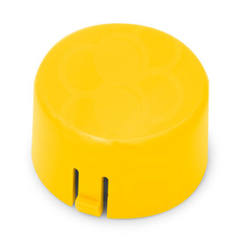 Mix & Match Seimitsu PS-14-GN 30mm Convex Cap: Yellow