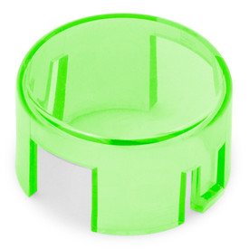 Mix & Match Seimitsu PS-14-K/KN Translucent 30mm Convex Cap: Green