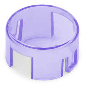 Mix & Match Seimitsu PS-14-K/KN Translucent 30mm Convex Cap: Purple