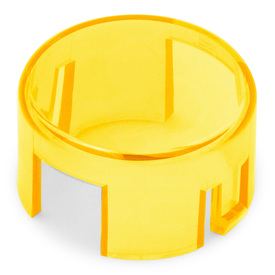 Mix & Match Seimitsu PS-14-K/KN Translucent 30mm Convex Cap: Yellow