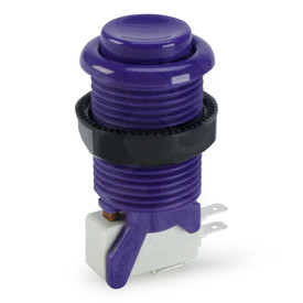 Suzo Happ Concave Long Stem Pushbutton - Purple