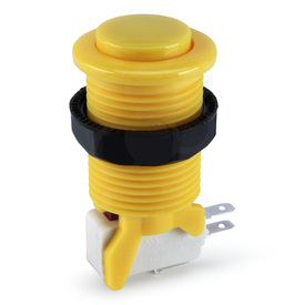Suzo Happ Convex Competition Long Stem Pushbutton - Yellow