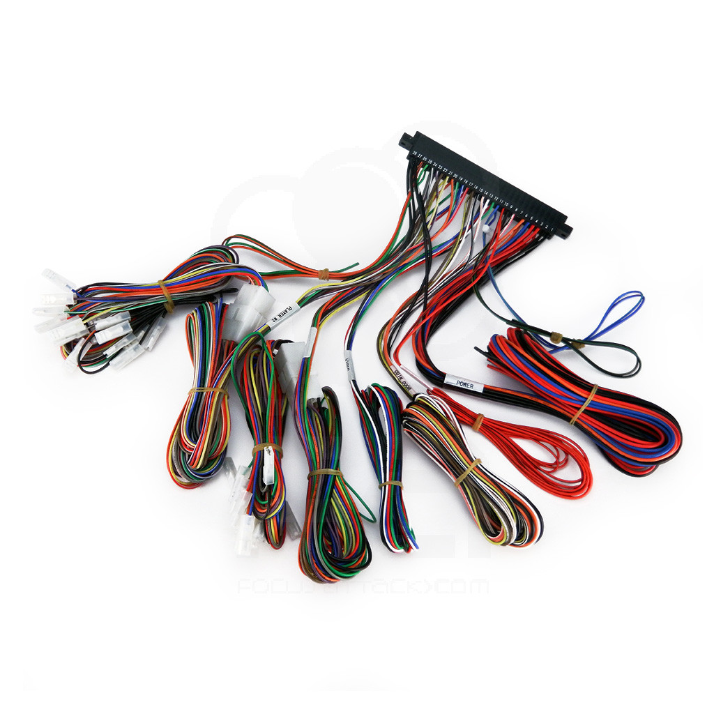 056_SZHAPP_JAMMA_CABLE_01__29478.1437884201.1280.1280?c=2 suzo happ super jamma compatible wiring harness Wire Harness Assembly at bakdesigns.co