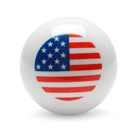 USA Flag Decal Balltop