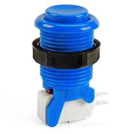 IL PSL-H Concave Short Stem Pushbutton - Blue