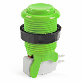IL PSL-H Concave Short Stem Pushbutton - Green