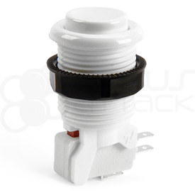IL PSL-H Concave Short Stem Pushbutton - White