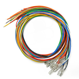 16pc 22 AWG Wire with .187 Quick Disconnect