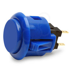 Sanwa OBSF 24mm Pushbutton Marine Blue