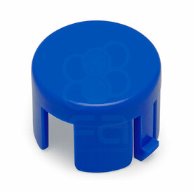 Mix & Match Sanwa OBSF 24mm Plunger: Royal Blue