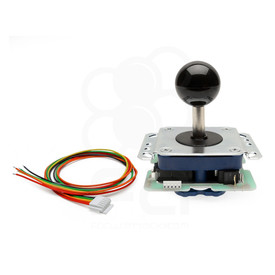 Seimitsu LS-38-01 (PCB Type) Joystick with SS Plate and High Tension Spring