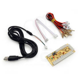 PS3/PC Zero Delay USB Encoder PCB: Japan Style Controls