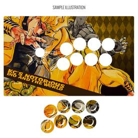 "Artwork Print and Cut for MadCatz T.E.2, T.E.2+ (Generation 2 1/40"")"