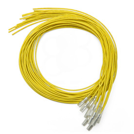 Yellow 16pc 22 AWG Wire with .187 Quick Disconnect