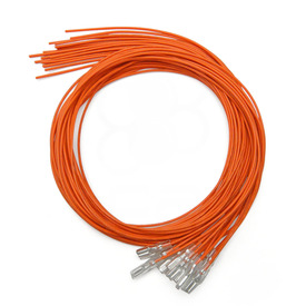 Orange 16pc 22 AWG Wire with .187 Quick Disconnect
