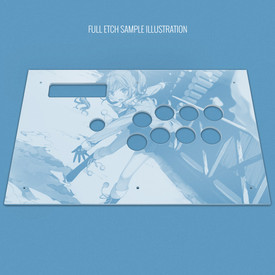 Custom Etch Plexi Cover for MadCatz TE-S